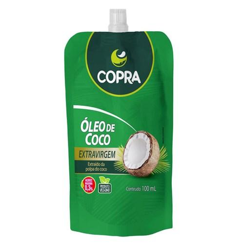 Óleo de Côco Extra Virgem Pouch - Copra - 100Ml