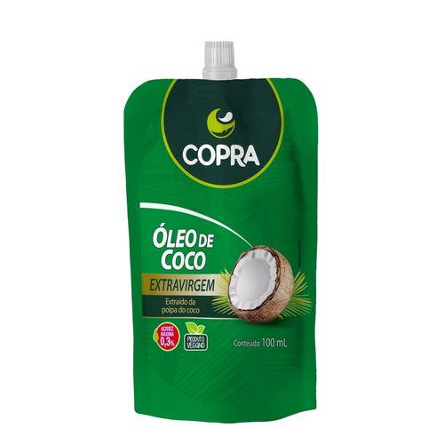 Óleo de Coco Extravirgem Pouch 100ml - Copra