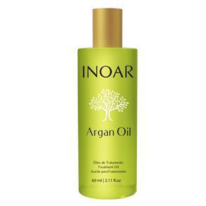 Óleo de Tratamento Argan Oil Inoar - Tratamento Disciplinador - 60ml