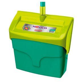Pá P/ Lixo Plástico Noviça Coletora C/Cabo BT140 Bettanim