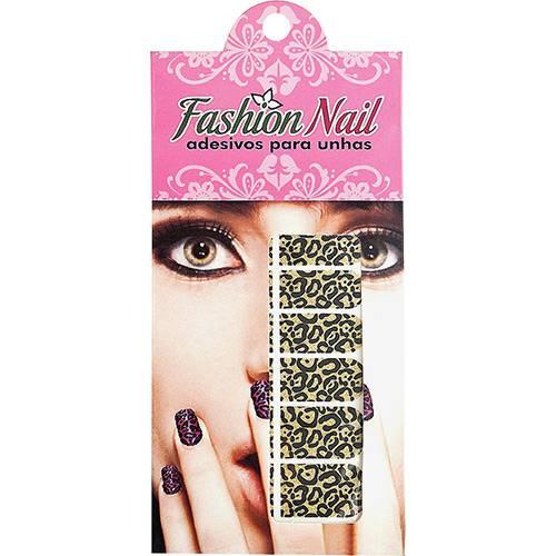 Película Adesiva Fashion Nail Onça