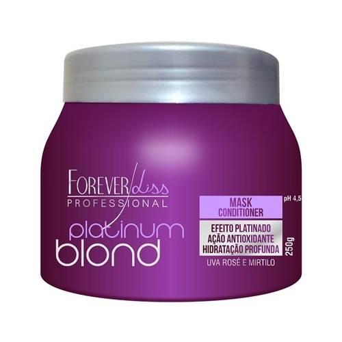 Platinum Blond - Máscara Matizadora 250G - Forever Liss