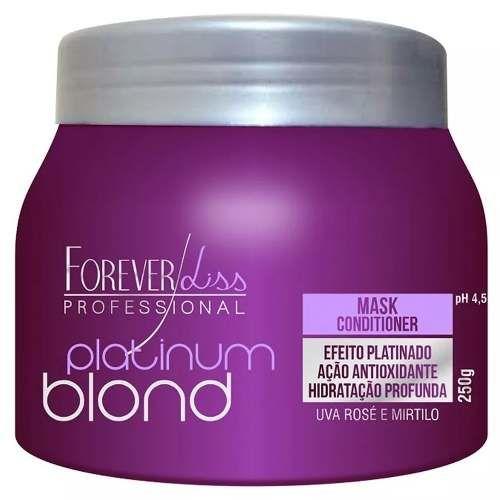 Platinum Blond Mascara Matizadora 250g - Forever Liss
