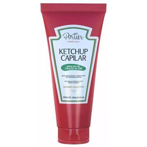 Portier Ketchup Capilar Fixação da Cor Linha Gourmet - 250g