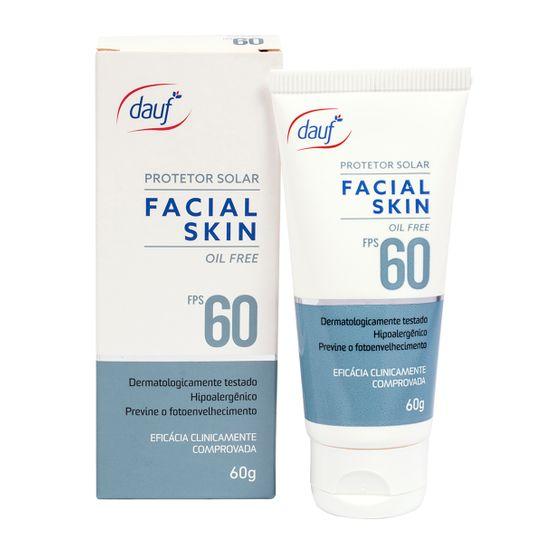 Protetor Solar Dauf Facial Fps60 60g