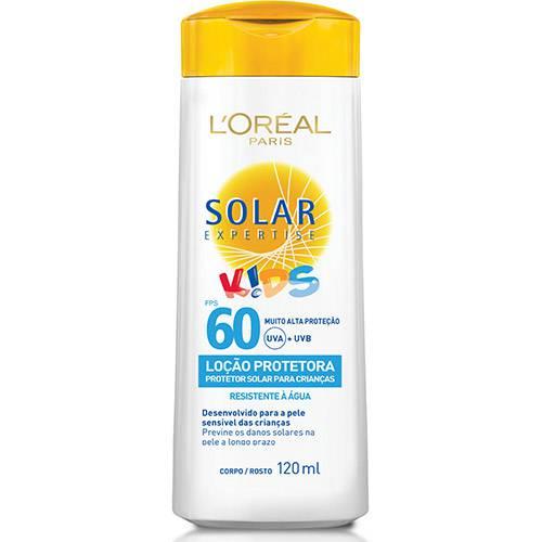 Protetor Solar Expertise Loção Kids FPS 60 120ml - L'Oreal Paris