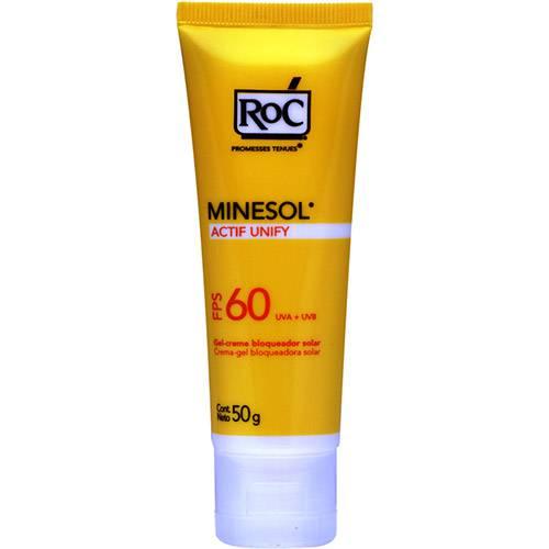 Protetor Solar Minesol Actif FPS 60 50g RoC
