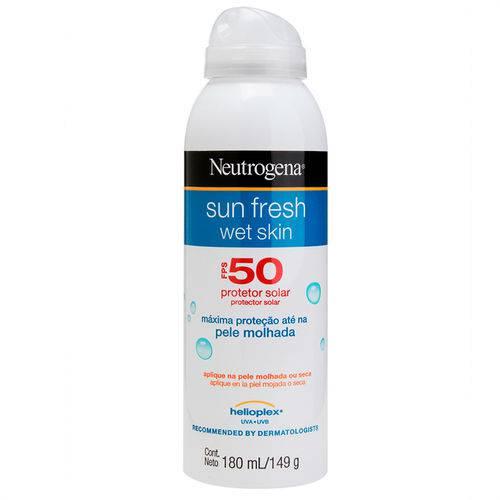 Protetor Solar Neutrogena Sun Fresh Wet Skin Fps50