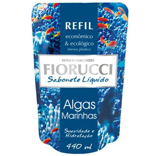 Refil Sabonete Líquido Fiorucci Algas Marinhas 440ml