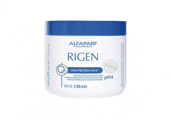 Máscara Alfaparf Rigen Milk Protein Plus Real Cream - 500g