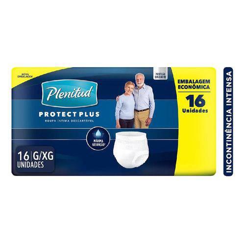 Roupa Intima Plenitud Protect Plus C/16 G/Xg