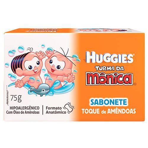 Sabonete em Barra Huggies Turma da Mônica Amêndoas 75g