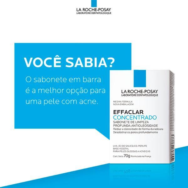 Sabonete Facial Effaclar Concentrado La Roche-posay 70g - La Roche Posay