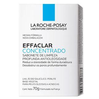 Sabonete Facial La Roche Posay - Effaclar Concentrado La Roche-Posay 70g