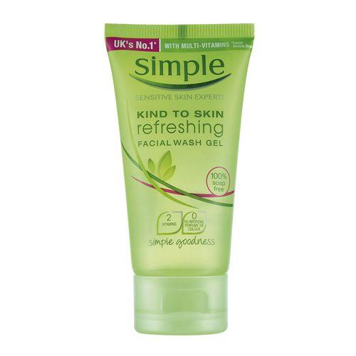 Sabonete Facial Simple Gel 50ml