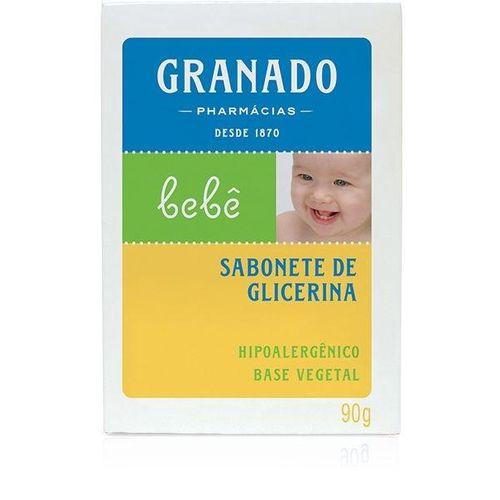Sabonete Granado Barra Bebe Glicerina Tradicional 90g