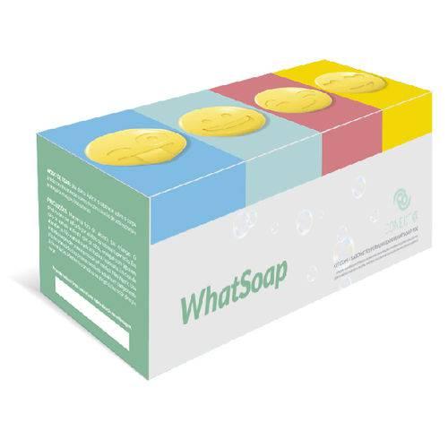 Sabonete Hidratante Whatsoap 4x90g