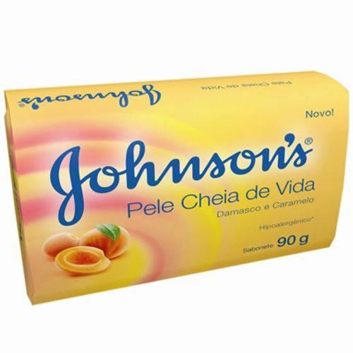 Sabonete Johnson's Damasco e Caramelo