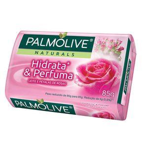 Sabonete Leite e Pétalas de Rosas Palmolive 85g