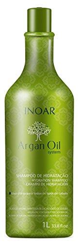 Shampoo Argan Oil Hidratante 1000ml, Inoar