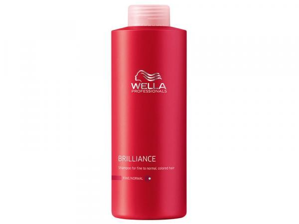 Shampoo Brilliance para Cabelo Colorido 1L - Wella