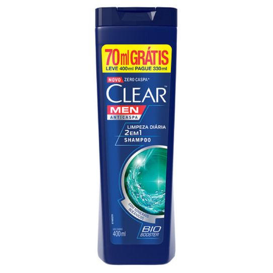 Shp Clear Men 2x1 Limpdial400p330ml