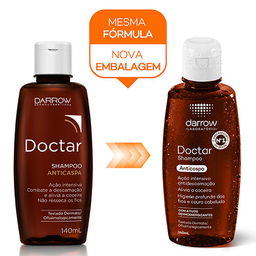 Shampoo Doctar 140ml