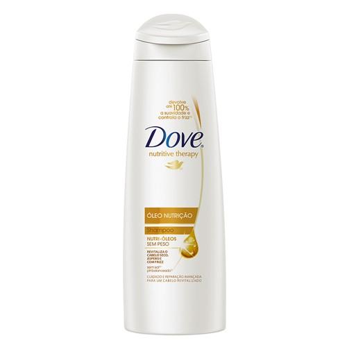 Shampoo Dove Óleo Nutrição 200ml