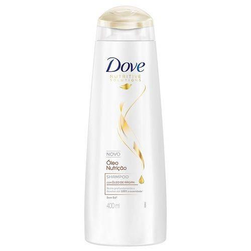 Shampoo Dove Óleo Nutrição 400ml