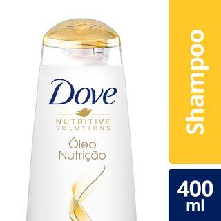 Shampoo Dove Óleo Nutricão 400ml