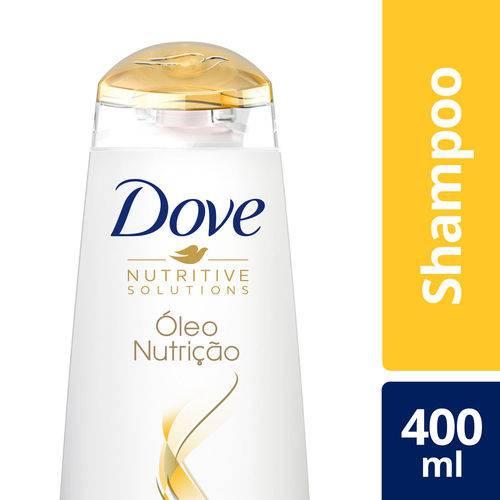Shampoo Dove Óleo Nutricao 400ml