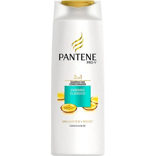 Shampoo 2 em 1 Cuidado Clássico 400ml - Pantene