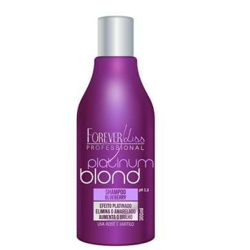 Shampoo Forever Liss Platinador Blond Matizador 300ml