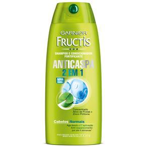 Shampoo Fructis Anticaspa 2 em 1 - 200 Ml
