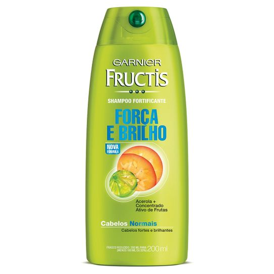 Shampoo Fructis Cabelos Normais 200ml.