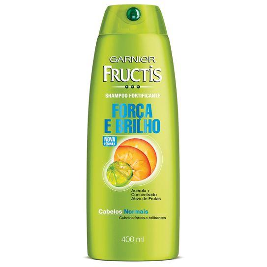 Shampoo Fructis Cabelos Normais 400ml.