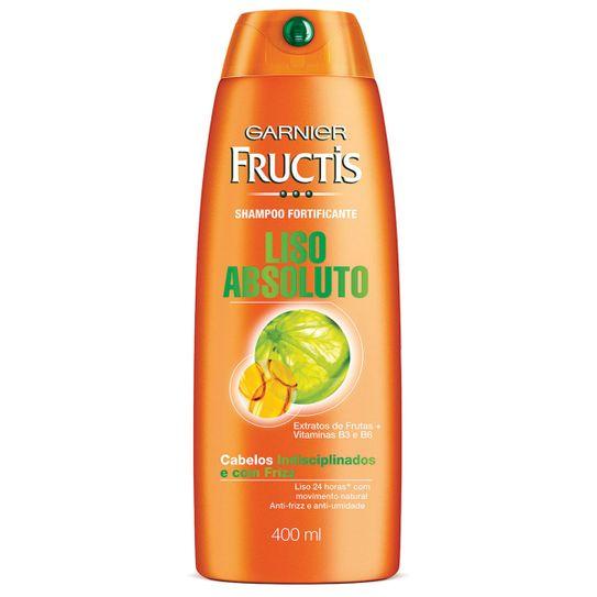 Shampoo Fructis Liso Absoluto 400ml.