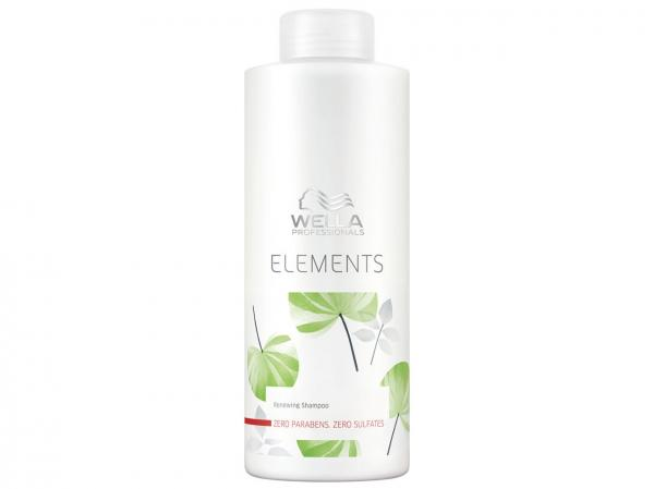 Shampoo Hidratante Limpeza Profunda - Elements Renewing 1L - Wella