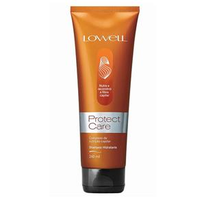 Shampoo Hidratante Protect Care Lowell 240ml