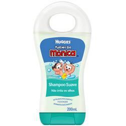 Shampoo Infantil Suave 200ml - Turma da Mônica Huggies