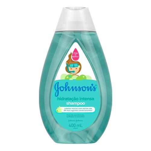 Shampoo Johnson's Hidratação Intensa 400ml