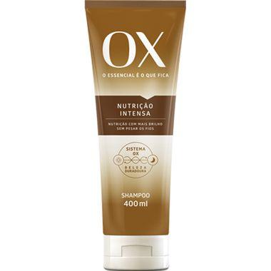 Shampoo Nutrição Intensa OX 400ml