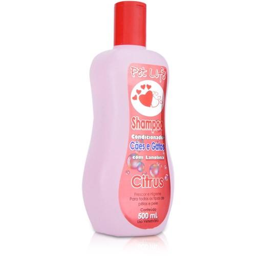 Shampoo Pet Life Citrus 500 Ml