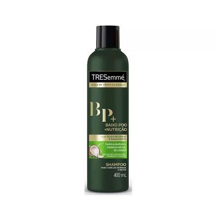 Shampoo Profissional Tresemmé Baixo Poo + Nutrição Cabelos Normais a Secos 400ml