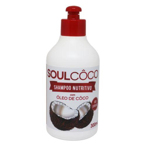 Shampoo Retrô Soul Côco 300 Ml