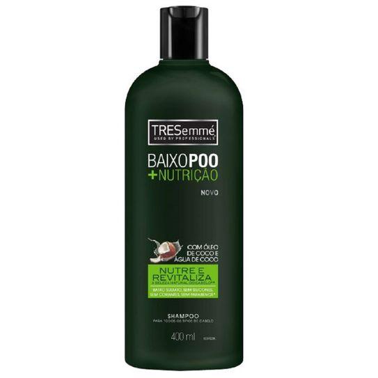 Shampoo Tresemme Baixo Poo + Nutrição 400ml