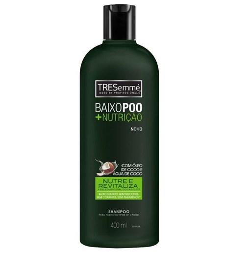 Shampoo Tresémme Baixo Poo + Nutrição 400Ml