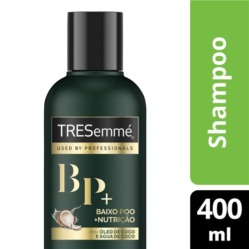 Shampoo TRESemmé BaixoPoo + Nutrição 400ml