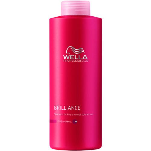 Shampoo Wella Brilliance Cabelo Normal Colorido - 1l