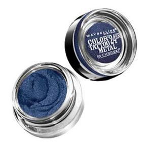 Sombra Maybelline Color Tattoo Metallics - Eletric Blue